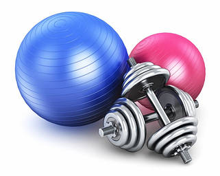 Товары фитнеса и спорта