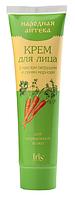 """Крем для лица с маслом петрушки и семян моркови для нормальной кожи """"Народная аптека"""" Iris Ir-0247"""