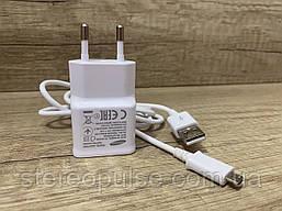 Оригинальное зарядное устройство Samsung для смартфона (Micro USB)