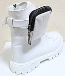 Ботинки высокие женские зимние кожаные от производителя модель КИС50-1, фото 8