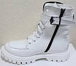 Ботинки высокие женские зимние кожаные от производителя модель КИС50-1, фото 9
