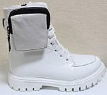 Ботинки высокие женские зимние кожаные от производителя модель КИС50-1, фото 4