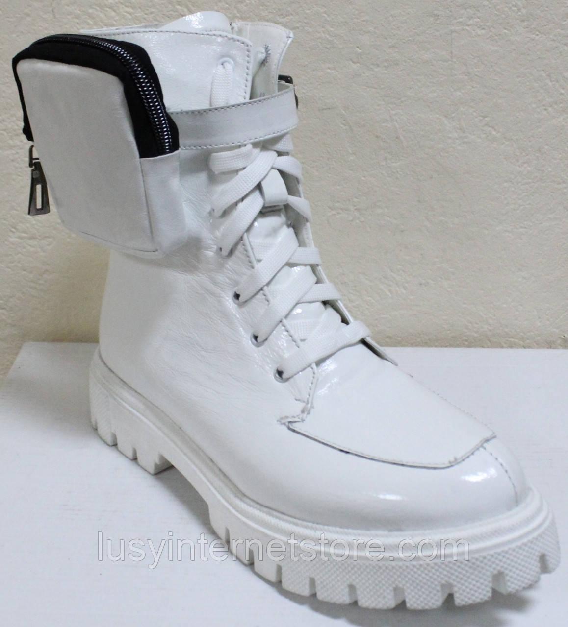 Ботинки высокие женские зимние кожаные от производителя модель КИС50-1