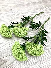 Декоративная ветка - цветок чеснока ( 40 см ), фото 3