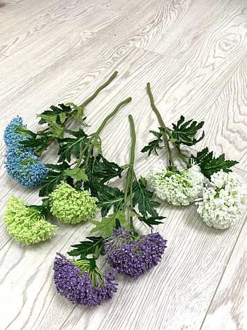 Декоративная ветка - цветок чеснока ( 40 см ), фото 2
