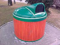 Полуподземный (заглубленный) мусорный контейнер