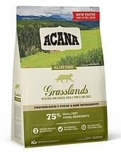 Сухий корм для кішок і кошенят Акана Acana GRASSLANDS Cat з ягням і качкою 1,8 кг