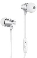 Вакуумные наушники с микрофоном Celebrat C8 Super Bass Белые