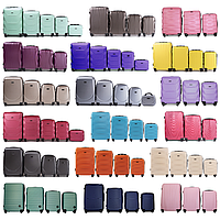 Комплекты пластиковых чемоданов