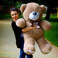 Плюшевый Мишка 1,30 метра капучино, Большой Плюшевый Медведь, Большая Мягкая игрушка Плюшевый Мишка 130 см