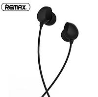 Проводные наушники с микрофоном Remax RM-550 Черные