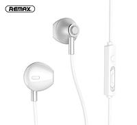 Проводные наушники с микрофоном Remax RM-711 Серебро