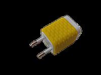 Сетевое зарядное устройство Joyroom WY-002 Желтое