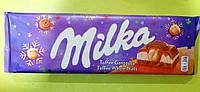 Шоколад Milka с фундуком и карамелью молочный 300 г, фото 1