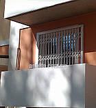 Решетки раздвижные Шир.930*Выс2200мм для балконов, фото 2