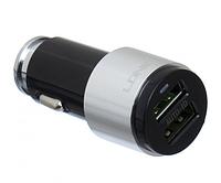Автомобильное зарядное устройство 4.2 A 2 USB с кабелем MicroUSB LDNIO C403 Черное