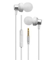 Проводные наушники с микрофоном Remax RM-512 Серебро