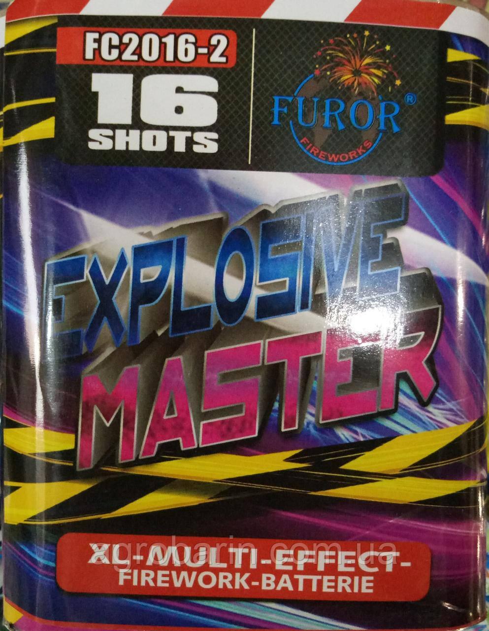 Салютная установка «Explosive Master» FC2016-2