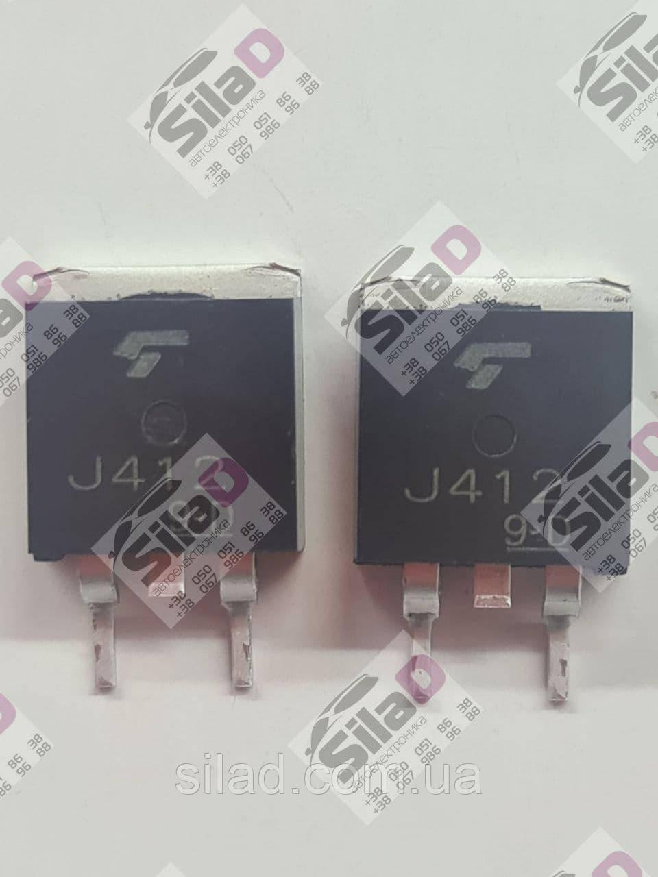 Транзистор 2SJ412 J412 Toshiba корпус TO-263