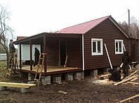 Будиночок дачний 36м/кв з набірної дошки, фото 1
