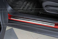 Накладки на пороги Nissan Juke