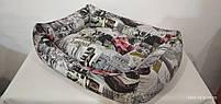 Лежак Premium в ткани Антикоготь 70х50см, Лежаки, лежак, лежак для кошки, лежак для собак, фото 5