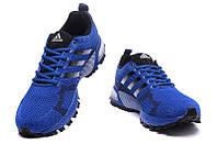 Мужские кроссовки Adidas Marathon Flyknit синие