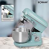 Планетарный миксер Bomann KM 6030 Mint Green, фото 3