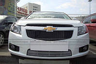 Решетка PVS для Chevrolet Cruze (серебро)