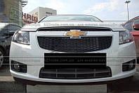 Решетка PVS для Chevrolet Cruze (черная)