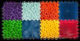 Килимок масажний Пазли Мікс 10 елементів, фото 4