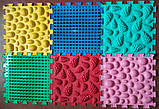 Килимок масажний Пазли Мікс 10 елементів, фото 5