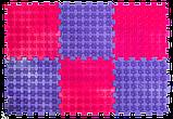 Килимок масажний Пазли Мікс 10 елементів, фото 6
