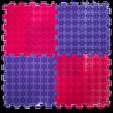Акупунктурный массажный коврик Лотос 9 элементов, фото 5