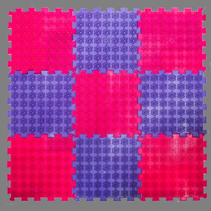 Акупунктурный массажный коврик Лотос 9 элементов
