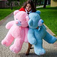 Плюшевый Мишка 1,30 метра розовый, Большой Плюшевый Медведь, Большая Мягкая игрушка Плюшевый Мишка 130 см