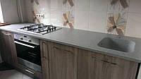 Кухонная столешница с мойкой из искусственного камня