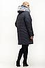 Зимняя женская куртка большого размера 54-70, фото 3