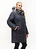 Зимняя женская куртка большого размера 54-70, фото 10