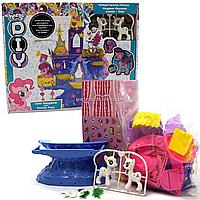 Игровой набор для девочек «Замок Пони» (2 игрушки белые) SM 2019