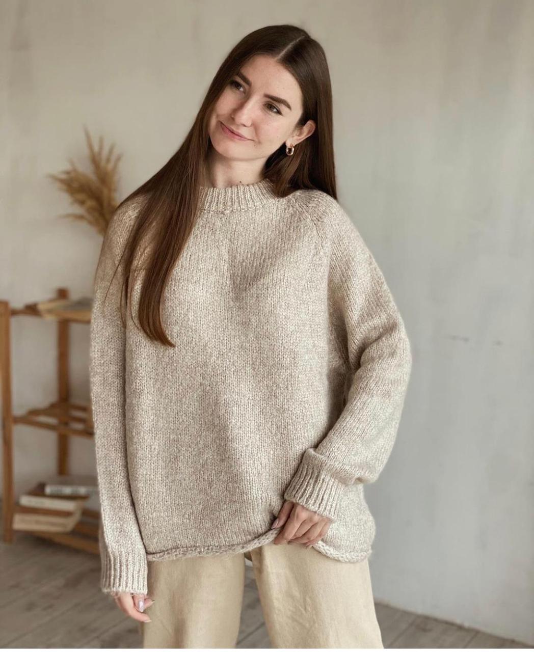 Женский теплый свитер Турция