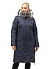 Удлиненная женская куртка зимняя размеры 48-62, фото 3