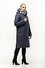 Удлиненная женская куртка зимняя размеры 48-62, фото 4