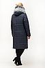 Удлиненная женская куртка зимняя размеры 48-62, фото 7