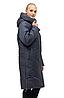 Удлиненная женская куртка зимняя размеры 48-62, фото 2