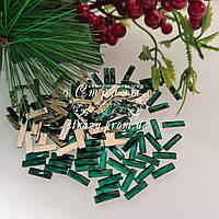 Стразы фигурные 2,5*9 Emerald 20шт №72