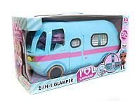 Игровой набор от Лол L.O.L. Storage Bus Glamper 2 в 1 Автобус с куклой и аксессуарами