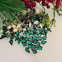 Стразы фигурные 5*8 Emerald 20шт №93