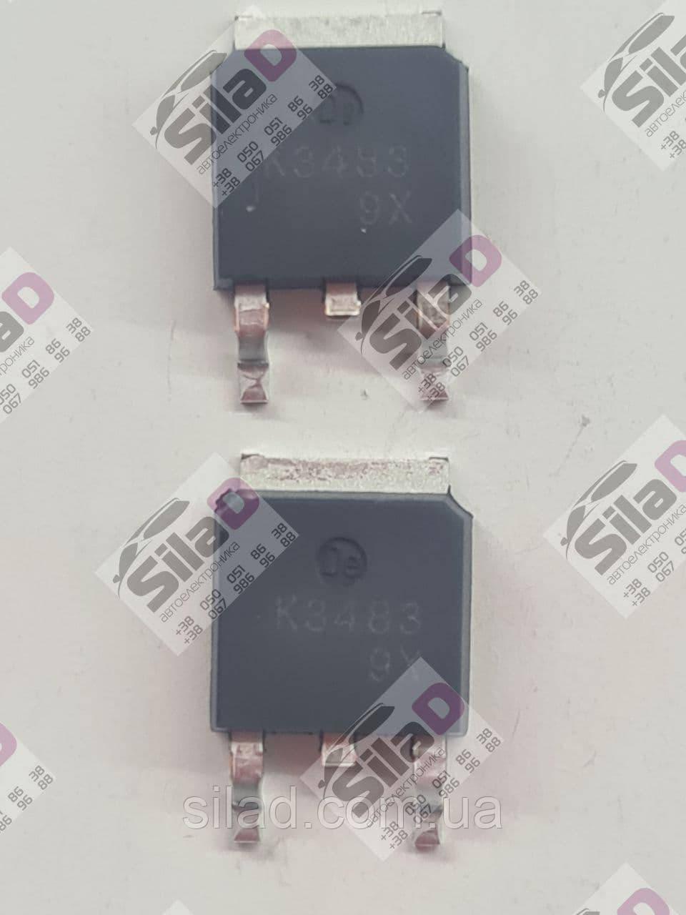 Транзистор 2SK3483 K3483 NEC корпус TO-252