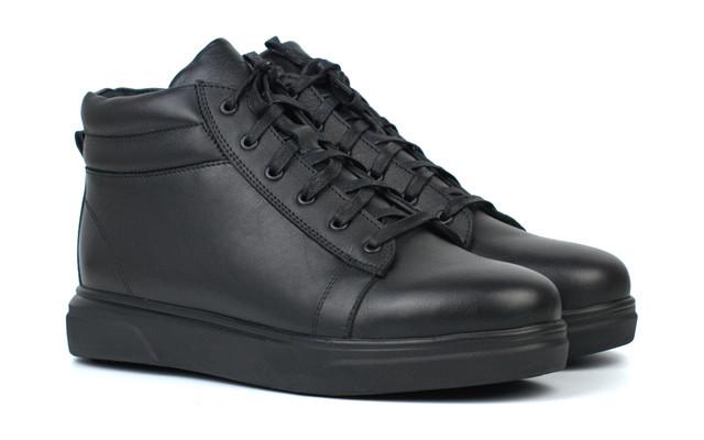 Зимние ботинки мужские кожаная обувь на меху большой размер Rosso Avangard Bridge Sleep